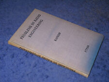 PROBLEMS IN RADIO ENGINEERING, E.T.A. Rapson, HB 6th, 1945. Electrical circuits
