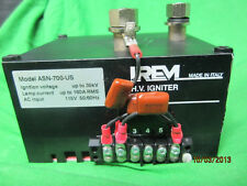 Irem Xenon Lamp H V Igniter ASN 700 US used - Clean up to 35KV