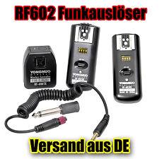 Yongnuo RF-602 mit 2 Empfänger Funkauslöser Blitzauslöser Auslöser für Nikon