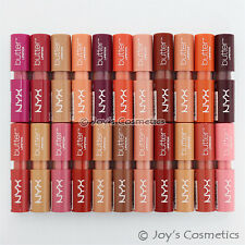 "6 NYX Butter Lipstick - BLS ""Pick Your 6 Color"" Joy's cosmetics"