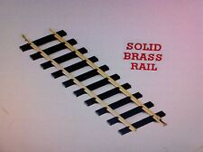 USA Trains 81065 G Scale 60 Inch Straight Track Solid Brass Rail (One Case 6 pc)