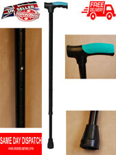 Lightweight Walking Stick Medical Silicone Handle Walking Cane Height Adjustable