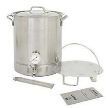 16 Gallon Brew Kettle Fermenter, Mash Cooker, 6 Pieces