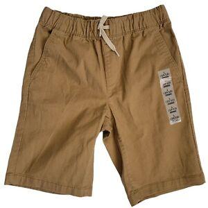 Old Navy Khaki Built In Flex Cargo Shorts Boys Size L (10-12) Elastic Waist