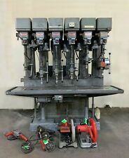 Industrial/Commercial Allen 6-Spindle Gang Drill