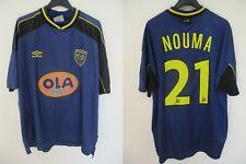 Maillot R.C LENS 1999 2000 UMBRO vintage shirt NOUMA n°21 OLA trikot jersey XXL