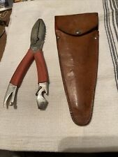 Vintage West German DBGM Fishing Pliers W/Sheath