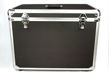 Large Lightweight dual PAR64 case, lighting aluminium case, utility cable packer