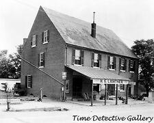 McDuff Green Warehouse, H.G. Lightner Store, Falmouth, VA - Historic Photo Print