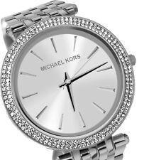 Michael Kors MK3190 Damenuhr Edelstahl silberfarben Zirkonia Armband NEU Uhr