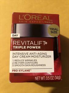 L'Oreal Revitalift Triple Power Anti-Aging Moisturizer 0.5oz