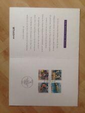 Jahreskarte Sammler - Service 1992 Olympische Spiele #