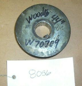 WOODS 5120 BLADE SPINDLE PULLEY MPN# 70709