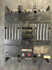 Used General Electric TJK436F000 400 Amp Circuit Breaker, Mag Adj., 3-Pole