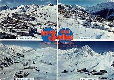 BR86427 les 3 vallees le plus grand domaine skiable du monde france