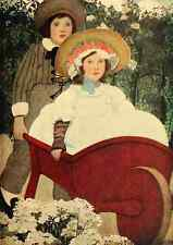 A4 Photo Betts Ethel Franklin Complete Mother Goose 1909 Jack and Jill Print Pos