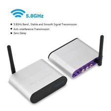 300M 5.8GHz Wireless HDMI AV Sender Trasmettitore e Ricevitore 220V EU Plug