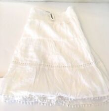 67d3e7dfc177ad Old Navy Women s Smocked Tiered Lined Flirty Skirt Plus Size 3X - NEW