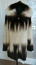 Mink Jacket Coat Hooded Real Fur RRP£1800 sale!