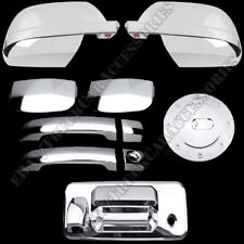 W// SMART KEY CHRYSLER 300 2011 2012 TFP ABS CHROME DOOR HANDLE COVER