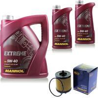 Ölwechsel Set 7L MANNOL Extreme 5W-40 Motoröl + SCT Filter KIT 10198360