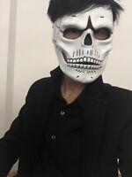 FRP Skull Skeleton Full Face Mask Cosplay Props For James Bond 007:Spectre 2019