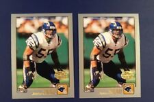 2001 Topps Collection # 67 JUNIOR SEAU Lot 2 San Diego Chargers !