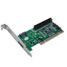 3 SATA + 1 Port IDE to PCI RAID Card Controller Adapter Converter VIA6421 AC388