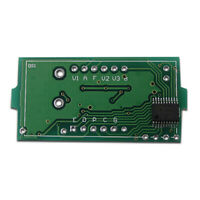Digital DC 12 Temperature Meter with Probe for K Type Thermocouple Green LED