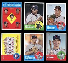 2012 Topps Heritage Baseball (1-200) Pick from List