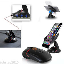 Car Cell Phone Mount Holder Stand Cradle Mouse Design,One Click Automatic Open