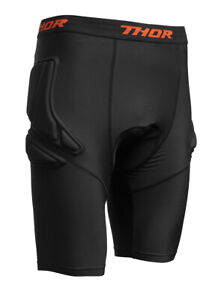Thor MX Motocross Comp XP Padded Compression Shorts (Black) L (Large)