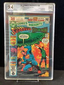 DC Comics Presents #26 Graded 9.4 First New Teen Titans (B)