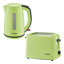 Bosch TAT3A016 Toaster inkl. TWK7506 Wasserkocher Matcha Grün