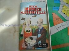 THEY'VE INVADED PLEASANTVILLE GAME - TSR - 1981 - UNPUNCHED - ALIEN INFILTRATION