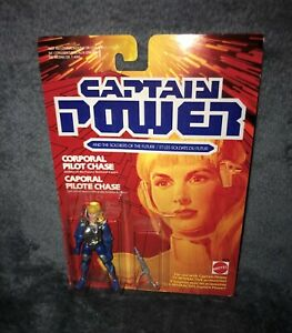 Captain Power and the Soldiers of the Future Corporal Pilot Chase Action Figure