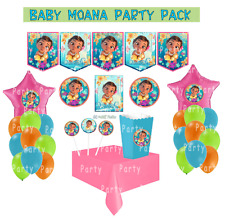 Moana Baby Birthday Party Supplies Pack