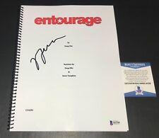 JERRY FERRARA SIGNED AUTO FULL ENTOURAGE SCRIPT  BAS COA 1