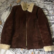 Milan Leathermaster Soft Leather Suede Size 14 real leather bikers jacket