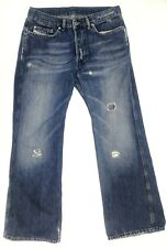 Diesel Men's Ravix Button Fly Bootcut Denim Jeans Size 32x32