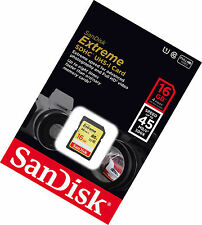 Sandisk 16G extreme U1 DSLR class 10 SD card for Sony NEX-3N NEX-5T NEX-6 NEX-7