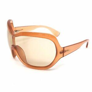Prada Illusion Over-sized Shield Sunglasses - SPR05OGAD
