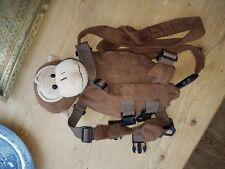 Goldbug Child/Toddler 2 in 1 Harness Monkey Buddy Reins & Backpack Pocket Lead