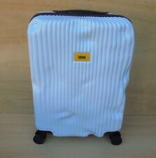 Crash Baggage Cabin Trolley 36 x 55 x 20 cm Pioneer Spinner Koffer - weiß