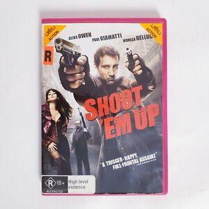 Shoot Em Up Movie DVD Region 4 AUS - Action Clive Owen