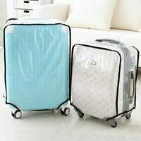 "Waterproof Clear Luggage Suitcase Dust Proof Cover Case Protector for 20-30"" US"
