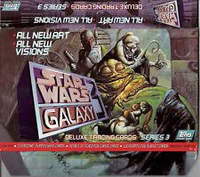 Star Wars Galaxy Series 3 - EMPTY CARD BOX - NO PACKS - SHIPPED FLAT - Topps