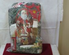 New Listing1994 Bucilla Classic Santa Needlepoint Picture or Pillow
