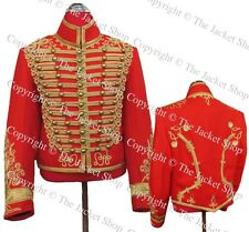 Hussars Red Military Cavalry Tunic - Dolman