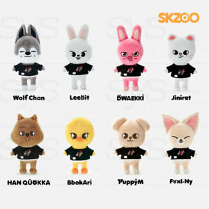 STRAY KIDS SKZOO Official Authentic Goods Plush Doll Original ver + Tracking#